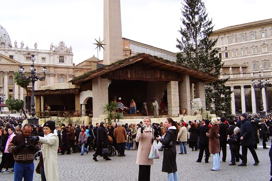 St Peters Square Nativity Scene